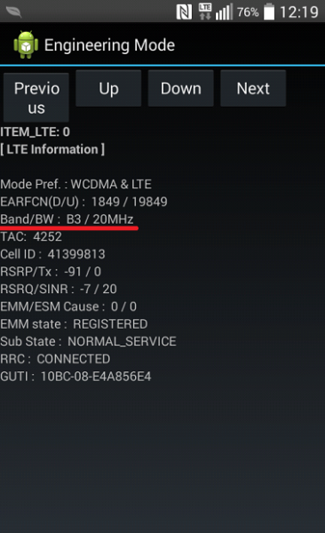 Band3(1.7Ghz)