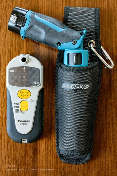 マキタ 充電式ペンインパクトドライバ TD021DS パナソニック 乾電池式壁うらセンサー EZ3802